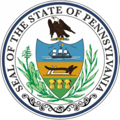 SS State seal of Pennsylvania
